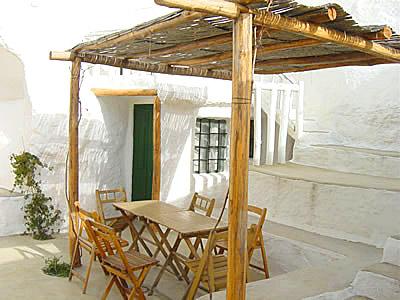 terraza patio cueva 5 Al Jatib