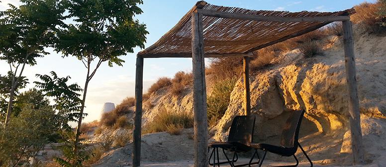 terraza encima de la cueva 1 Al Jatib