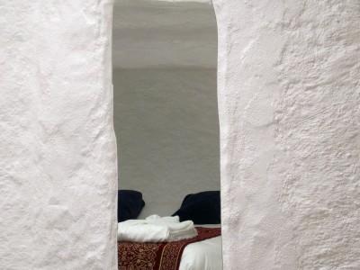 La habitación Taral vista en el espejo