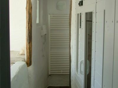 sauna infraroja con zona relax