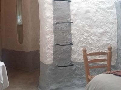 Paraiso entrada y chimenea Al Jatib