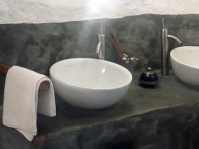 habitación doble Paraiso detalle lavabo