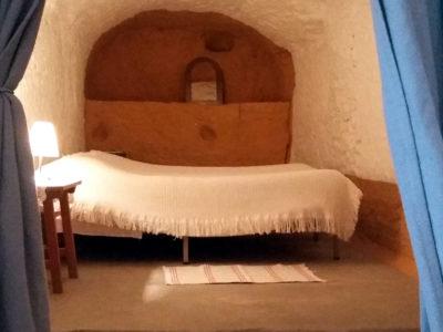 cortina cueva 6 dormitorio, ermitaño