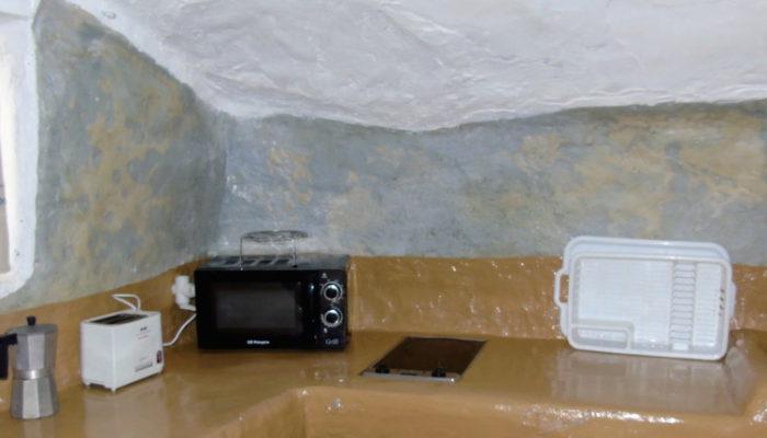 cocina cueva 6, ermitaño